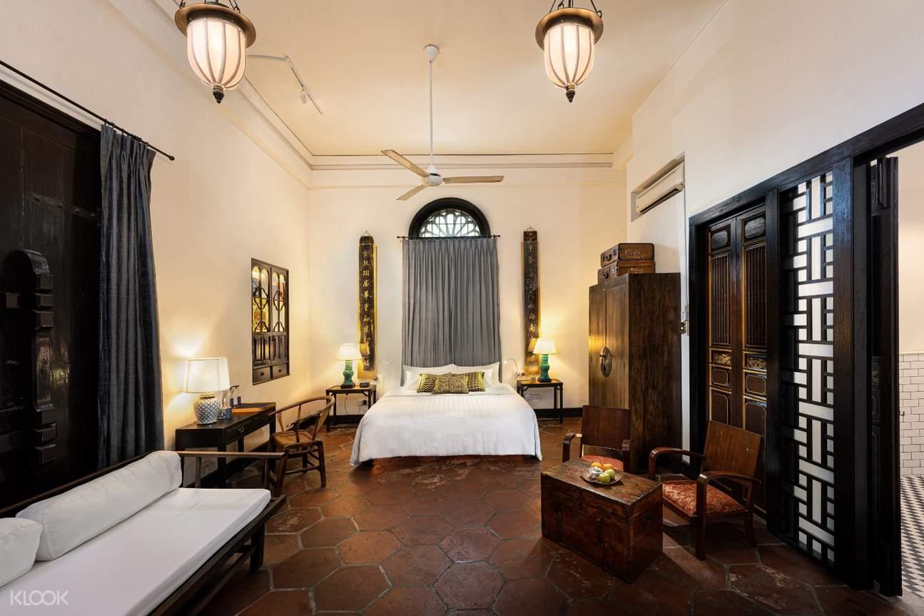 room at Cheong Fatt Tze Mansion